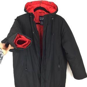 Gap winter women's black coat jacket puffer Size S